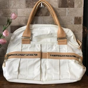 See by Chloe Large Leather Satchel Handbag